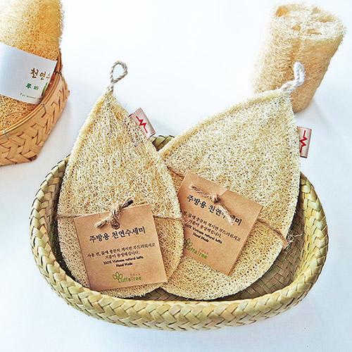 루파나무 천연 수세미